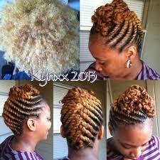 flat twist updo hairstyles pictures blondie flat twist updo makin my livin pinterest flat