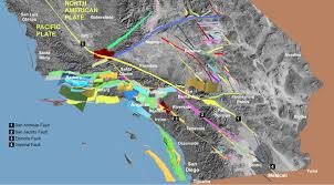 Greater Los Angeles Map by Fault Off San Diego Orange Los Angeles Counties Could Produce