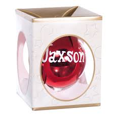 personalized name balls ornaments canada retrofestive ca