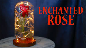 how to make an enchanted rose from beauty and the beast youtube