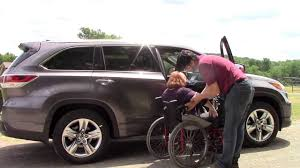 lifted lexus rx multi lift disability handicap lift in toyota highlander lexus rx