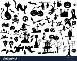 amazon halloween furniture marvellous vector collection halloween silhouettes