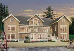 waterfront house plans monster house plans