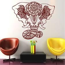 Wall Decals Vinyl Sticker Mandala by Belive Wall Decals India Mandala Elephant Decals Buddha Om Vinyl