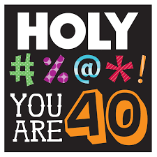 40 Birthday Meme - make meme with funny 40th birthday clipart