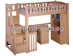 Expand Your Bedroom Space With Bunk Bed And Loft Bed - Study bunk bed