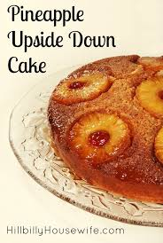 pineapple upside down cake hillbilly housewife