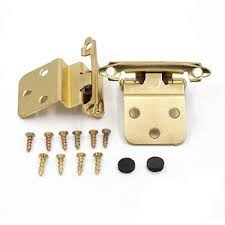 what is the inset of a cabinet hinge gold inset cabinet hinges for kitchen cabinets 10 pairs sch38bb