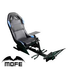 mofe portable hydraulic driving simulator racing seat for logitech