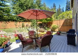 Beautiful Patio Gardens Patio Garden Stock Images Royalty Free Images U0026 Vectors