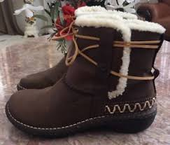 hiking boots s australia ebay ugg australia s leather caspia sheepskin winter boot