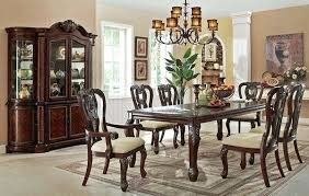 How To Set A Formal Dining Room Table Dining Room Set Bone White Finish 7 Formal Dining