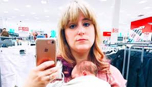 target shopping lady black friday mom fat shamed at target speaks out on postpartum pressure