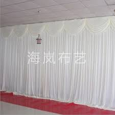 wedding backdrop curtains for sale hot sale 3x6m silk simple white 10ftx20ft wedding backdrop