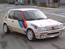 peugeot 205 group b peugeot 205 gti 1 9 group a 1987 racing cars