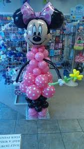 balloon delivery greensboro nc minnie mouse balloon column and celebrations