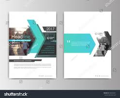 Catalogue Cover Page Design Templates by Annual Report Flyer Presentation Brochure Front Stock Vector