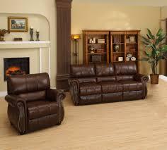 Ashley Leather Living Room Furniture Abbyson Living Ashley Italian Leather 2 Piece Sofa And Armchair
