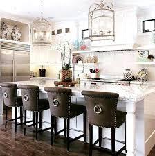 lush faux leather kitchen breakfast bar stool ideas itchen
