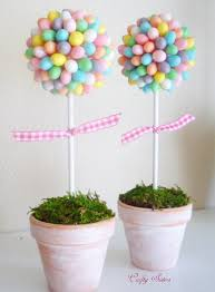 Easter Table Decorations Centerpieces by Easter Ideas Decorate The Table With A Jelly Bean Topiary