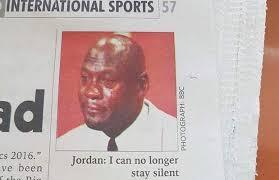Mj Meme - malawi newspaper uses crying mj meme picture for michael jordan