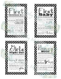 bridal shower wine basket set of 12 bridal shower wine basket gift tags black chevron