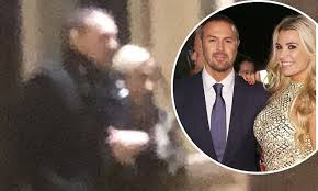 paddy mcguiness spray hair paddy mcguinness spotted arm in arm with nicole appleton
