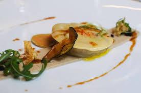 landes cuisine le foie gras de canard des landes en raviole artichauts aubergines