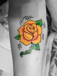 download yellow rose tattoo designs danielhuscroft com