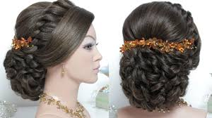 indian bridal hairstyle indian bridal step by step hairstyle image hairstyles magazine