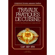 livre de cuisine professionnel fiche technique cuisine cap beautiful modle de cv employe de