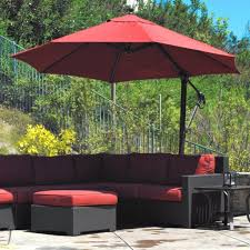 Patio Umbrellas Lowes 20 New Best Offset Patio Umbrellas Best Home Template