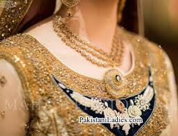 gold set in pakistan jewellery necklace search brown jewelery