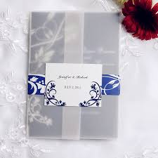 royal wedding invitation royal blue pocket wedding invitations with rsvp cards ewpi055 as