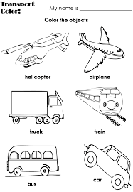 transportation coloring pages getcoloringpages com