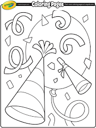 happy new year 2017 coloring pages getcoloringpages com