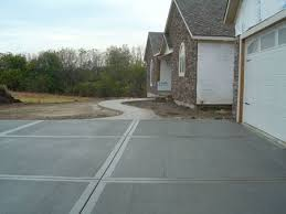 Brushed Concrete Patio Ckr Construction Concrete Contractor Source Louisburg Kansas