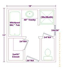 Bathroom Design Floor Plan by Bathroom Designs And Floor Plans For 8 X 10 House Plans