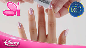 the lodge nail art tutorial skye official disney channel uk