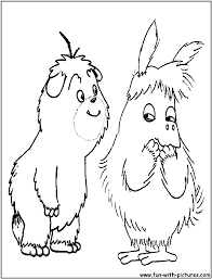 fluffything coloring page