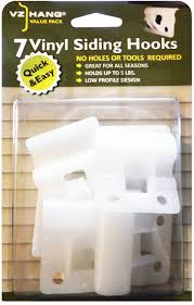 Menards Address Plaques by Amazon Com Vz Hang 7 Pack Vinyl Siding Hook Inconspicuous