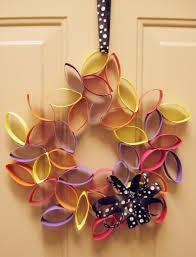 diy wreaths diy cardboard flower wreath make something mondays