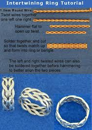 round wire rings images Sooo beautiful and clever intertwining ring tutorial by jpg