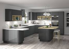 grey kitchen cabinets b q stylish grey kitchen inspiration for exquisite homes