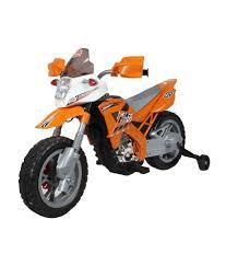 battery powered motocross bike baybee endura battery operated sports bike orange buy baybee