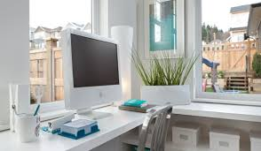 Big White Desk by Furniture Minimalist Decorating Ideas Using Small Round White