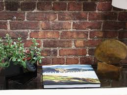 design element exposed brick walls