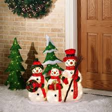 home outside decor 15 cute snowman christmas decorations for your home always in
