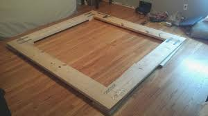 Bed Frame Build Easy Way To Build Platform Bed Frame Fresh Easy To Build Low Bud