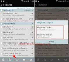 how to block emails on android samsung galaxy s5 how to block email messages in the